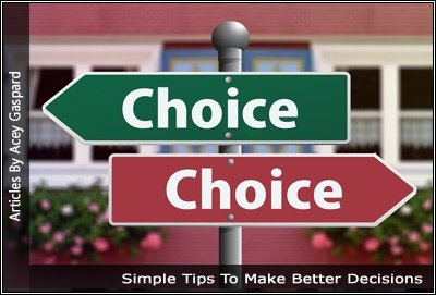 Image of Two Choice Signs