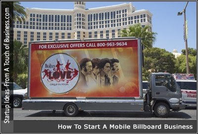 A Collection Of Web Pages About Starting Mobile Billboard Business