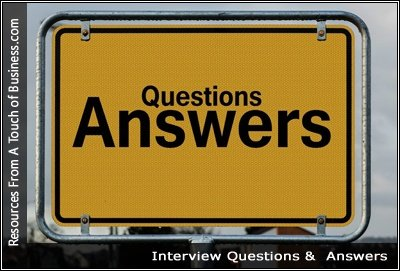 Image of a sign that reads Questions Answers