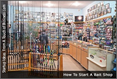 Image of a Bait and Tackle Shop