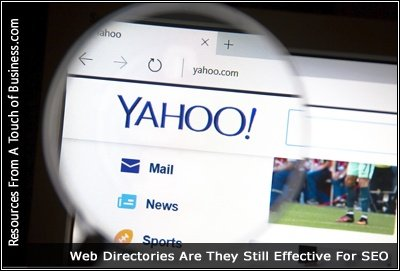 An Image of the Yahoo website